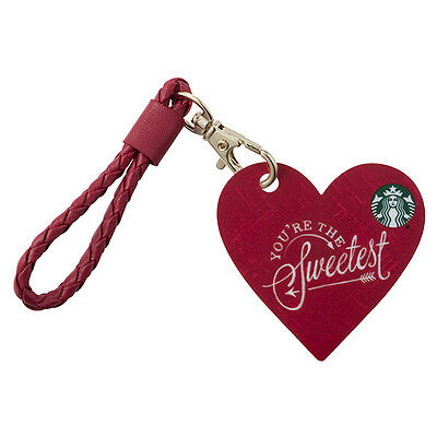Starbucks 2017 Heart Shape Valentine S Day On The Go Gift Card