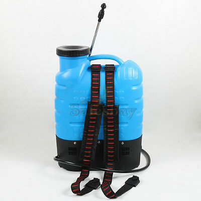 12V 16L Electric Weed Sprayer Rechargeable Backpack Farm Garden Pump Spray 3