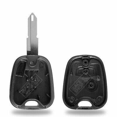 Coque Réparation Clé Télécommande pour Plip PEUGEOT 206 106 306 ✚ Pile ✚ Switch 2