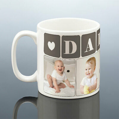 DADDY PHOTO MUG Personalised Birthday Gift Best Dad Cup New Dad Birthday Present 2