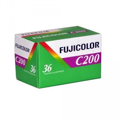 5 Rolls Fuji C200 35mm Film 135-36 FujiColor Fujifilm Color Print Expired 2014 2