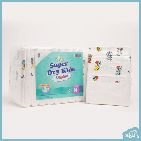 ABUniverse ABU Super Dry Kids SDK Diapers ABDL - Pack of 10 2
