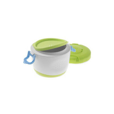 CHICCO Easy Meal Thermos Portapappa System 6m + Contenitore 180ml Thermosflasche 5