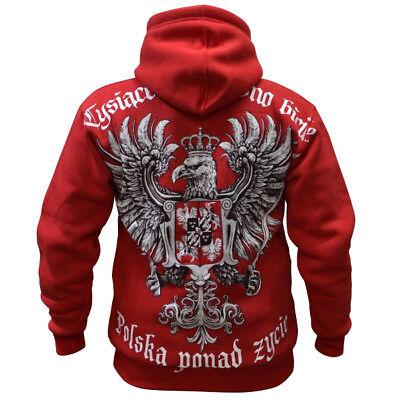 Sweatshirt Bluza Patriotic ISIS Poland Obrońcy Chrześcijaństwa Polen Polska