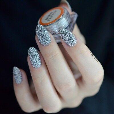 Nail Art Sugar Sandy Glitter Powder Dust Decoration Nail Tips DIY Born Pretty 10