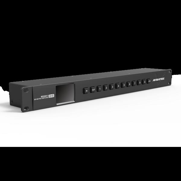 AVMATRIX MSS0811 1RU 8×8 3G-SDI compact SDI routing Matrix Switcher  8x8 in&out 2