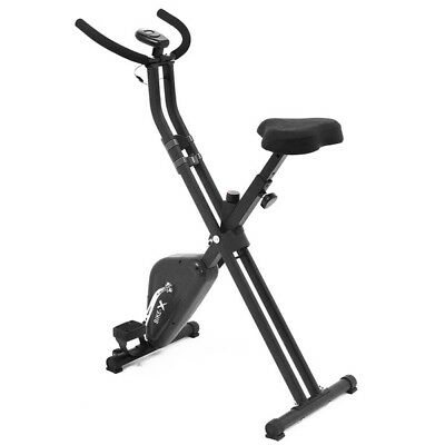 Esprit BIKE-X Foldable Exercise Bike BLACK Fitness Weight Loss Machine 2