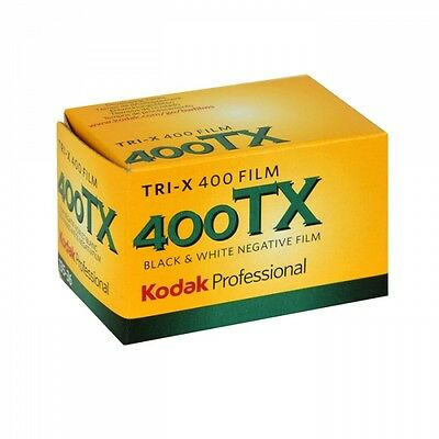 20 Rolls Kodak TX 400-36 35mm Tri-x Pan 35mm Black and White Film, FRESH 2