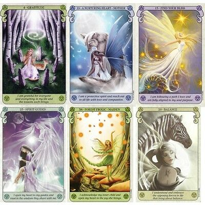 Conscious Spirit Oracle Cards  Deck Esoteric Telling Kim Dreyer New 4