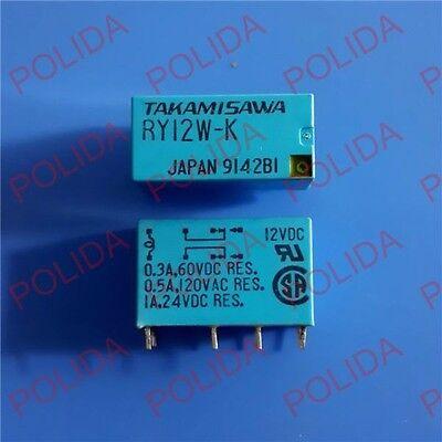 10PCS RELAY TAKAMISAWA//FUJITSU DIP-8 RY12W-K RY12W 12VDC 12V DC12V DC12