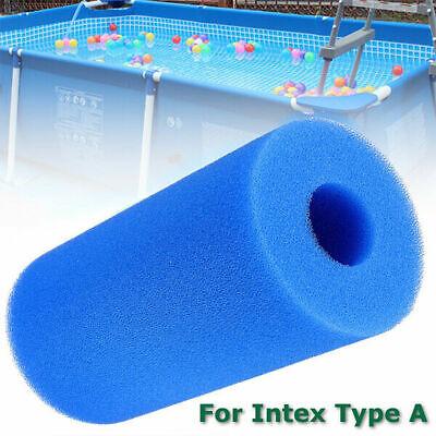 Cartouche réutilisable d'éponge de mousse filtrante de piscine Pour Intex Type A 2