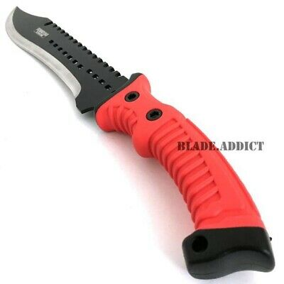 """16"""" TACTICAL HUNTING SURVIVAL RAMBO MACHETE FIXED BLADE KNIFE Axe Sword Army 3"""
