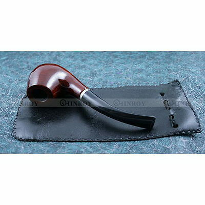 Wooden Enchase Smoking Durable Pipe Tobacco Cigarettes Cigars Pipes Gift