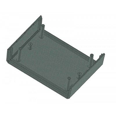 Enclosure 110x149x71MM Project Box Case PCB Housing in Black or Grey Vented KE3 7