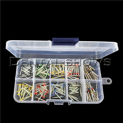 160 PCS Dental Glass Fiber Post Single Refilled Package & Free For 32 PCS Drills 2