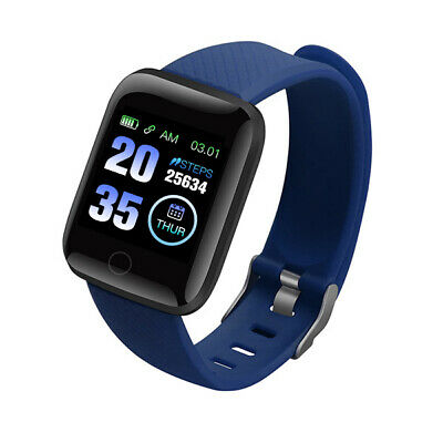116Plus Smart Watch Bluetooth Heart Rate Blood Pressure Monitor Fitness Tracker 7