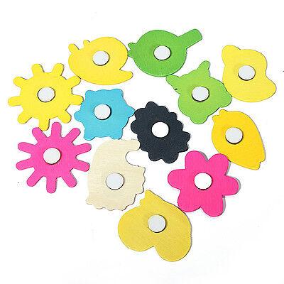 12Pcs Cartoon Animal Educational Toys Fridge Magnet Kids Toy DIY Decor Random 4