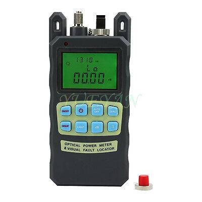 8In1 Fiber Optic FTTH Tool Kit FC-6S Fiber Cleaver and 2 in1 Optical Power Meter