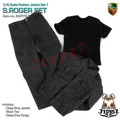 ACI Toys 1//6 773 Fashion Jacket Set/_ S.Roger Set #B /_Deep Grey Jacket Now AT087Z
