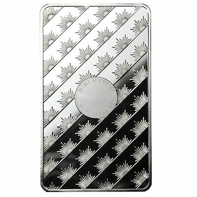 10 oz Sunshine Silver Bar - MintMark Security (New, Sealed) 2