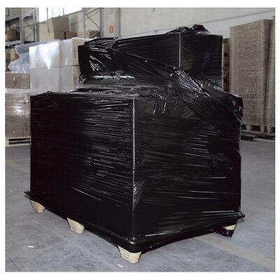⚫️⚪️ 6 Bobine Film Estensibile 300mt 50cm Pellicola BIANCO, NERO,TRASPARENTE 🔘