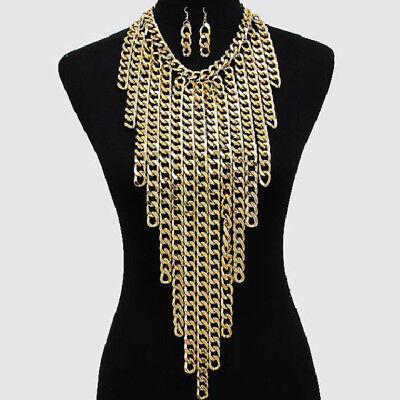 Crossover Bikini Tassel Harness Necklace Waist Belt Belly Body Chain Jewelry Hot