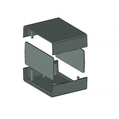 Enclosure 110x149x71MM Project Box Case PCB Housing in Black or Grey Vented KE3 6