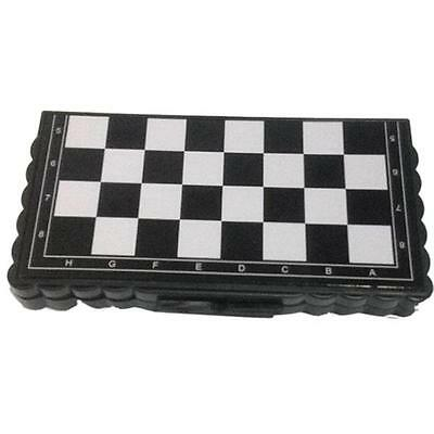 Travel Mini Foldable Pocket Magnetic Chess Board Set Vacation