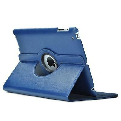 """For iPad 9.7""""  2017 2018 360 Rotating Leather Stand Case Cover"""