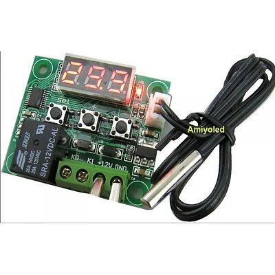 Termostato Sonda Regulador Control Temperatura Interruptor 12v en caja 2