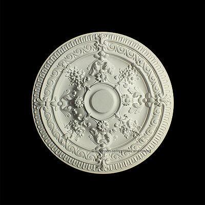 66cm Diameter, Lightweight Ceiling Rose (made of strong resin not polystyrene) 9