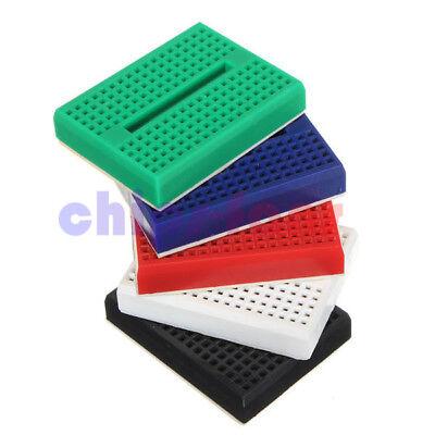 5 Color Mini Solderless Prototype Breadboard 170 Tie-points For Arduino Shield 2