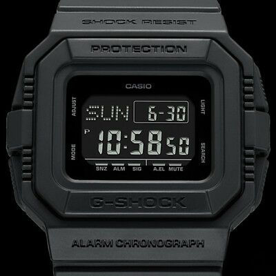 ... CASIO G-SHOCK Classic Black Series Watch GShock DW-D5500BB-1 3