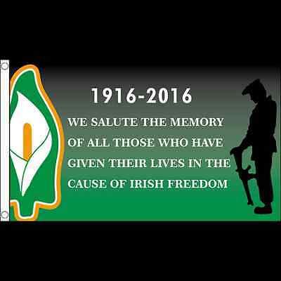 1916 Ireland Irish Flags 5 x 3' - Large Easter Rising Celtic Republican 7
