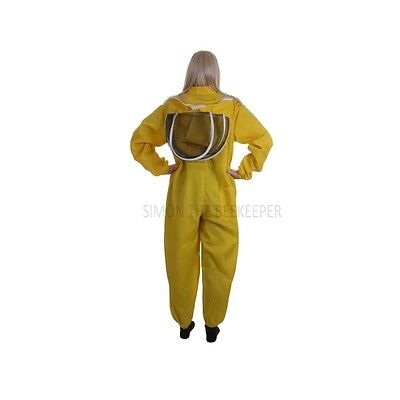 Buzz Basic Beekeepers Suit With Fencing Veil And Gloves - Yellow *All Sizes* 8