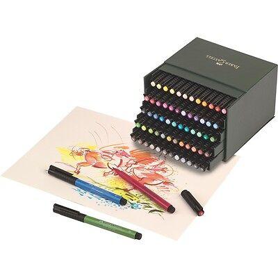 Faber Castell Tuschestift PITT artist pen brush 60er Atelierbox  167150