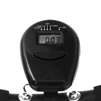 Esprit BIKE-X Foldable Exercise Bike BLACK Fitness Weight Loss Machine 8