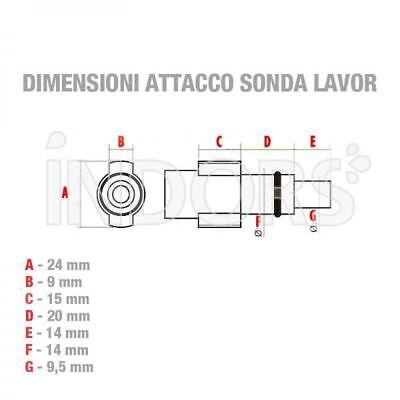 MICRO SONDA MICROSONDA STURATUBI IDROPULITRICE LAVOR  5 6  8  10  15  20 metri 2