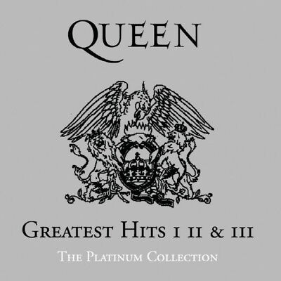 Queen-Greatest Hits I, II & III/The Platinum Collection(3CD) 2011 Remastered New 2