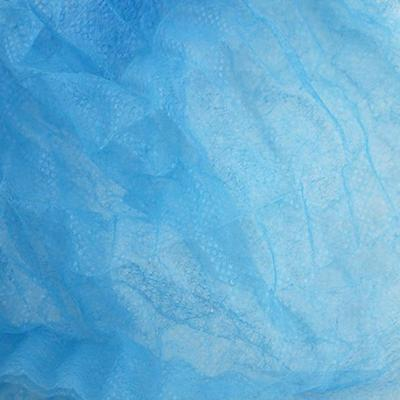 100PC Disposable Hair Net Dust Cap Industrial Medical Non-Woven Bouffant Stretch