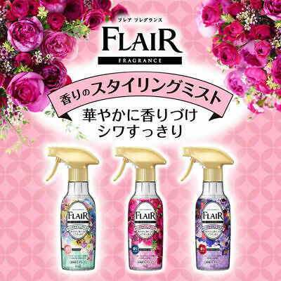Kao Japan FLAIR FRAGRANCE Mist Fabric Fragrance Floral & Sweet 270ml 3