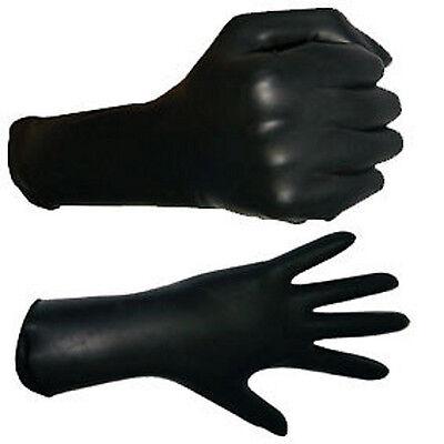 Gummi Latex Rubber Handschuhe mit Fingernageltips rot Top Markenware Gr. M 10