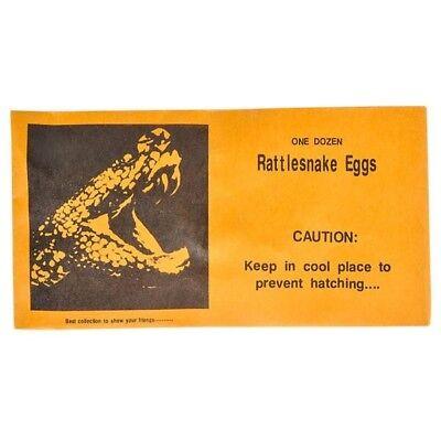 72 total rattlesnake eggs prank envelopes WHOLESALE LOT