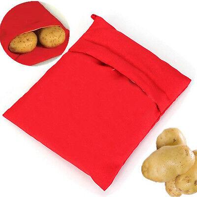 Potato Express Microwave Baked Potato Cooking Cooker Washable Bag Useful Bags