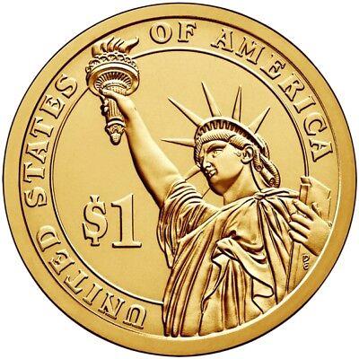2008 D John Quincy Adams Presidential One Dollar Coin U.S. Mint Money Coins 3