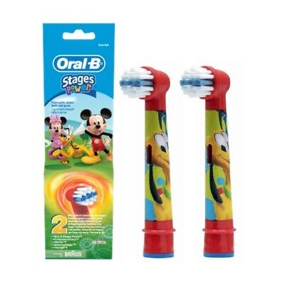 Genuine Oral-B Braun Stages Power  Toothbrush Replacement Heads For Kids 9