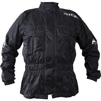 Richa Rain Warrior Motorcycle Motorbike Jacket and Trousers Black Kit Waterproof 4