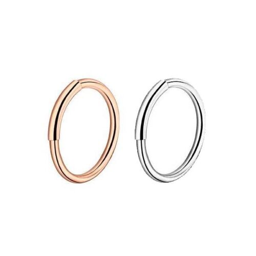 36pc Stainless Steel Nose Hoop Ring Ear Stud Cartilage Earring Piercings Jewelry 5