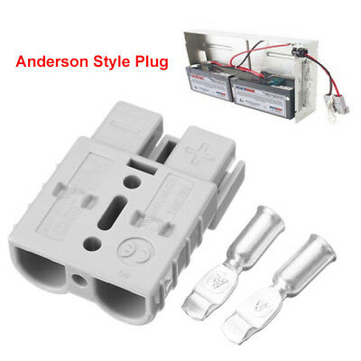 10 x Anderson Style Plug Connectors DC Power Tool 50 AMP 12-24V 6AWG