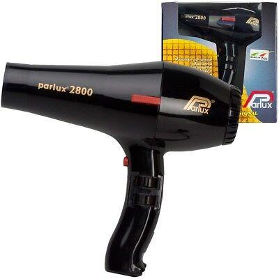 Phon Parlux 2800 Nero - 2 Beccucci D'aria Inclusi - Asciugacapelli Professionale 5